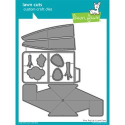 LF1611 Lawn Cuts Custom Craft Die Pivot Pop-Up