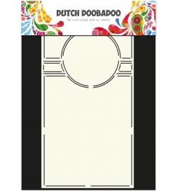 470.713.713  Dutch DooBaDoo Swing Card Art Circle