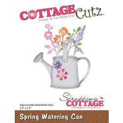 "CC424 CottageCutz Die Spring Watering Can 2.5""X2.9"""