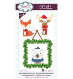 CEDLH1042 The Stitched Collection Christmas Characters