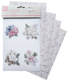 CA3130 Marianne D Decoration Perfumed paper roses