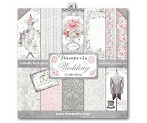 SBBL18 Stamperia Wedding 12x12 Inch Paper Pack