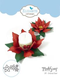 EC1497 Elizabeth Craft Metal Die Christmas Flower