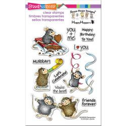 552988 Stampendous Perfectly Clear Stamps Celebrate Friends