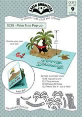 KBR1039 Karen Burniston Dies Palm Tree Pop-Up