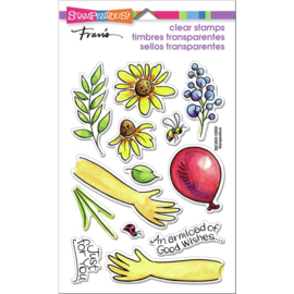642641 Stampendous Perfectly Clear Stamps Hands Hold