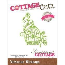 """423150 CottageCutz Elites Die Victorian Birdcage, 2.7""""X3.5"""""""