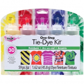 134297 Tulip One-Step Large Tie Dye Kit Rainbow