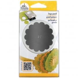 54-30097 Nesting Paper Punch Scallop Circle 2.25""