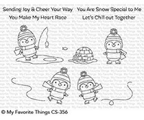 CS-356 My Favorite Things Snow Special Clear Stamps