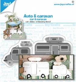 6002/1480 Joy!Crafts Cutting & embossing Auto / caravan