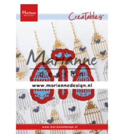 LR0640 Marianne Design Cutting & embossing Birdcage (set)