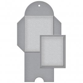 S4616 Spellbinders Shapeabilities Dies Notched Mini Envelope