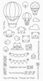 BB-132 My Favorite Things Up in the Air Clear Stamps