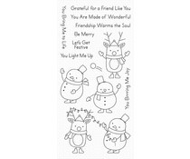 CS-430 My Favorite Things Festive Friends Clear Stamps