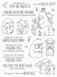 BB-117 My Favorite Things Hug It Out Clear Stamps