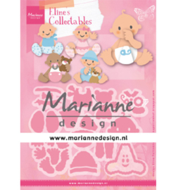 COL1479  Marianne Design collectables Eline's Babies