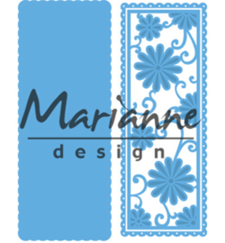 LR0516 Marianne Design Creatables  Anja's flower rectangle