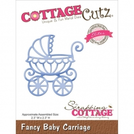 CCE143 CottageCutz Elites Die Baby Carriage