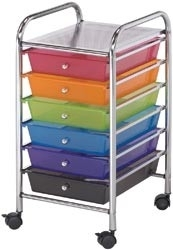 121459 Storage Cart Multi-Color