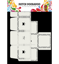 470.713.069 Dutch DooBaDoo Box Art Star, 2pc