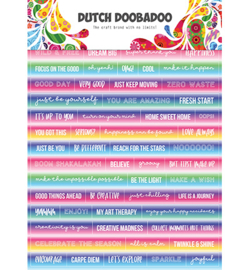 491.200.015 - DDBD Dutch Sticker Art Text Mandalas