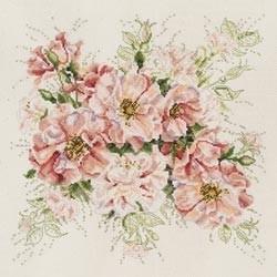 488503 Borduurpakket Garden Roses