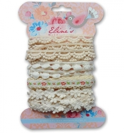 EL8531  Eline`s ribbons white