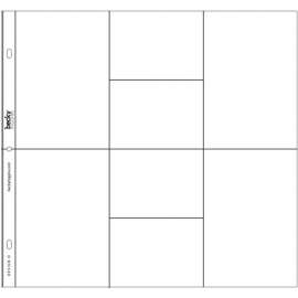 040152 Project Life Photo Pocket Pages 24/Pkg Design D