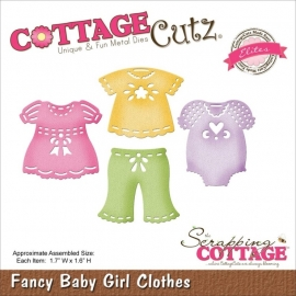 CCE145 CottageCutz Elites Die Baby Girl Clothes