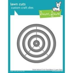 LF1278 Lawn Cuts Custom Craft Die Small Dot Circle