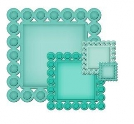 S4-315 Nestabilities Beaded Squares