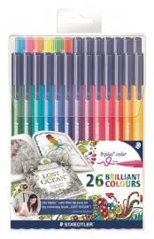 320300/0221 Staedtler Triplus color kleurstift Johanna Basford etui