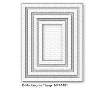 MFT-1481 My Favorite Things A2 Rectangle Frames Die-Namics