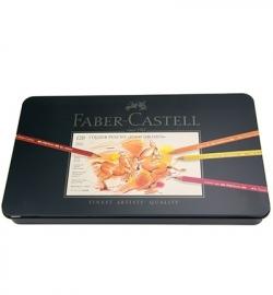 110011 Faber Castrell Sets FC Polychromos assorti blik 120 stuks