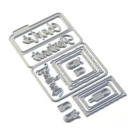 EC1836 Elizabeth Craft Metal Die Sidekick Essentials 14