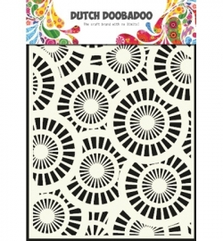 470715013  Dutch Doobadoo - Mask Art Stencils Circles