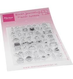 MZ1909 Marianne Design  Stempel Marjoleine's Bujo Tracker symbols