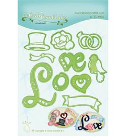 45.3936 LeCrea'Multi Die Cutting/Emb. Love combi