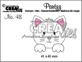 CLPartzz48 Crealies Partzz Kat