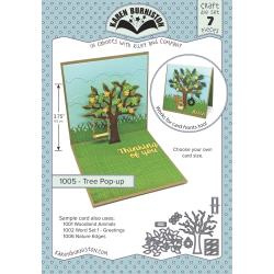 KBR1005 Karen Burniston Dies Tree Pop-Up