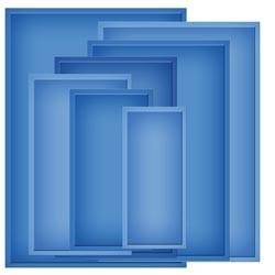 "S6-002 Spellbinders Nestabilities Card Creator 5""X7"" Dies Matting Basics B"