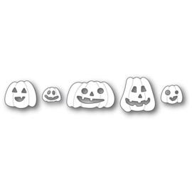 640185 Poppystamps Metal Dies Haunting Pumpkins