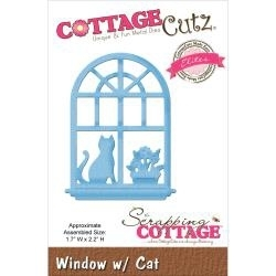 126975 CottageCutz Elites Die Window W/Cat