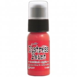 535411 Distress Paint December-Candied Apple 1oz Bottle