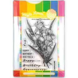 596483 Waffle Flower Stamp & Die Set Iris You