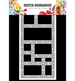 470.715.827 Dutch DooBaDoo Mask Art Slimline Squares