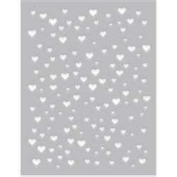 258576 Hero Arts Fancy Dies Heart Confetti