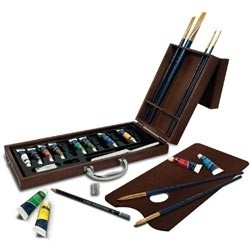132647 Premier Easel Set Acrylic Painting