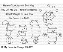 CS-349 My Favorite Things Spectacular Birthday Clear Stamps